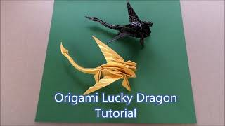 Origami Lucky Dragon Tutorial