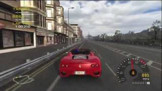 [HD] Project Gotham Racing 2: Ferrari 360 Spider at Edinburgh