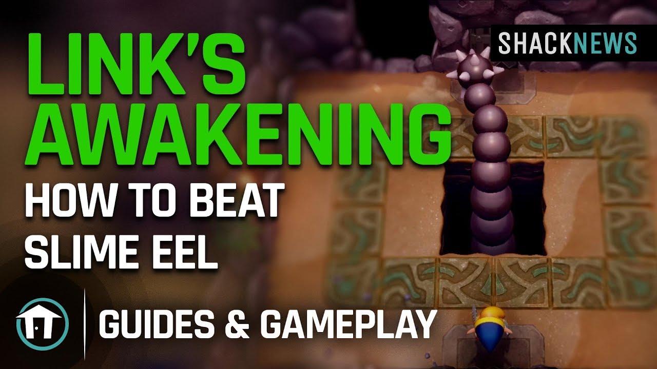Link S Awakening How To Beat Slime Eel Youtube