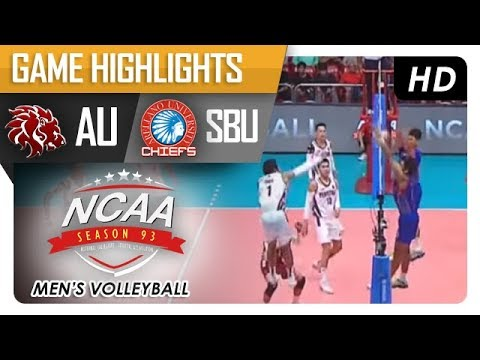 NCAA 93 MV FINALS: UPHSD vs AU | Game Highlights | February 19, 2018