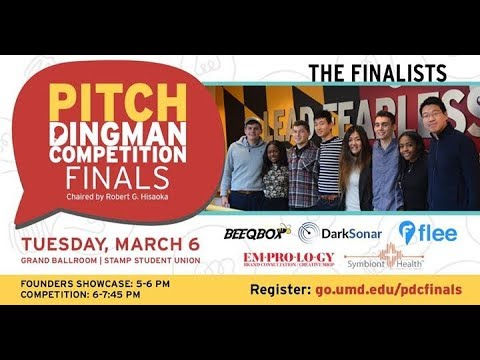 2018 Pitch Dingman Competition