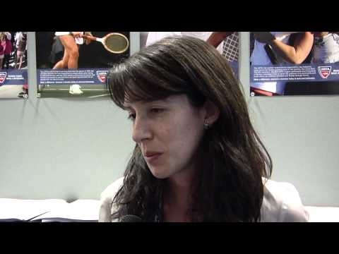 2010 US Open: Inside The Media Center - Murray Vs. Wawrinka