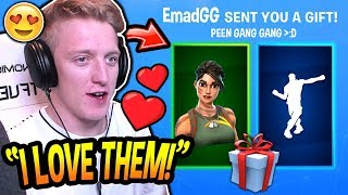 Tfue loves His NEW 'GIFTED' JUNGLE SCOUT SKIN - 'RARE' EMOTE! (DRÔLE) Moments Fortnite SAVAGE