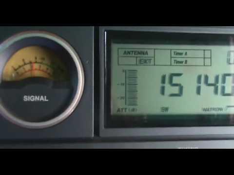 15140 kHz Radio Habana Cuba in Creole VS Radio Sultanate of Oman (Shortwave)