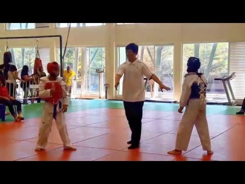 Te Kwan Do, Primary school kids, Bangkok, Sport Authority of Thailand