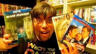 My Blu Ray Collection Update 11/1/12 Dvd and Blu Ray Reviews