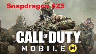 Call of Duty: Mobile - Snapdragon 625 gameplay (Redmi S2)