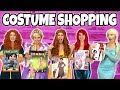 HALLOWEEN COSTUME SHOPPING WITH DISNEY PRINCESSES. (What Costume Would You Choose?) 2018