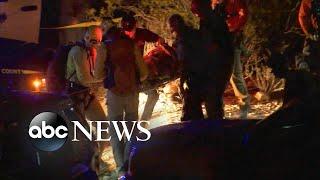 Man rescued after 2 days stranded in mineshaft