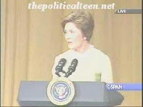 Laura Bush, Desperate Housewife - White House Correspondents Dinner Speech