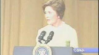 Laura Bush, Desperate Housewife - White House Correspondents Dinner Speech
