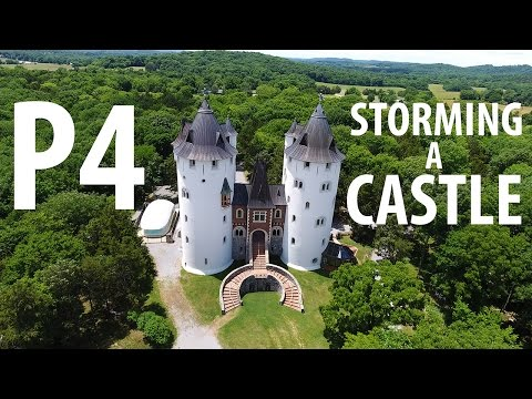 DJI Phantom 4 - Storming a CASTLE