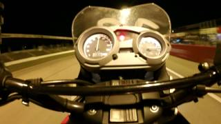 BMW G650GS Acceleration Drag Strip 1/4 Mile