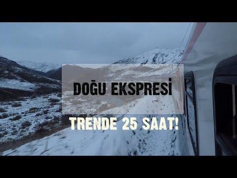 Doğu Ekspresi ile Yolculuk ~ Trende 25 saat!