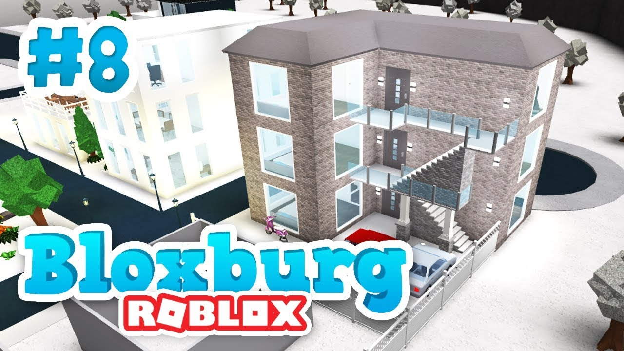Building Apartments Roblox Welcome To Bloxburg 8 Youtube