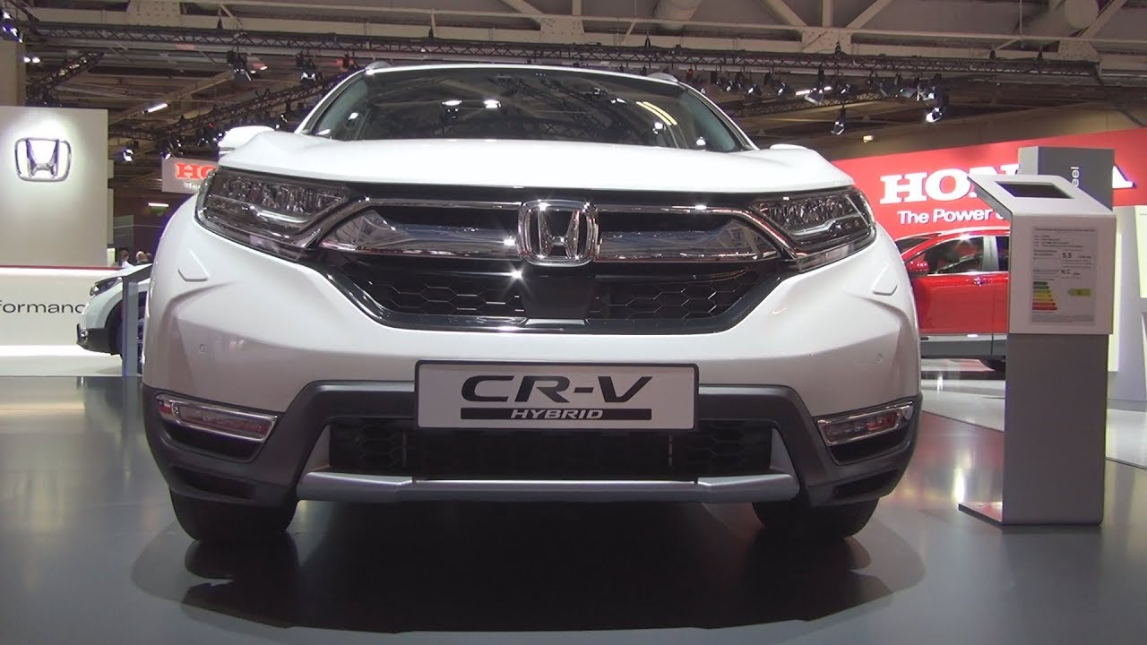 honda cr v hybrid 2 0 i mmd 4wd executive 2019 exterior. Black Bedroom Furniture Sets. Home Design Ideas