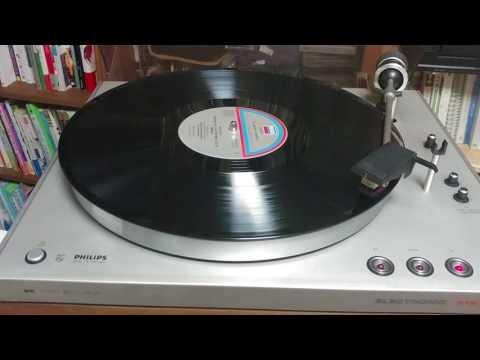Philips Electronic GA 312 Turntable (LP Player)