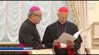Лукашенко встретился с Советом католических епископов Европы