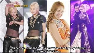 130819 Stars with Luxurious Abs! - Hyoyeon & Yuri [ENG]