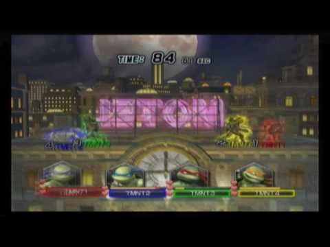 Teenage Mutant Ninja Turtles: Smash-Up - Manhattan Gameplay Brawl