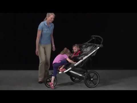 Прогулочная коляска для двойни Thule Urban Glide 2. Коляска для близнецов Туле Урбан Глайд 2. двойня