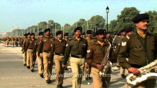 Indian army musical band parade on Republic day