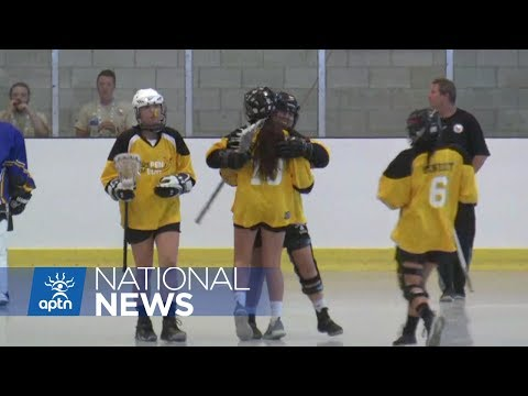 Women's Box Lacrosse Makes History at NAIG | NAIG 2017