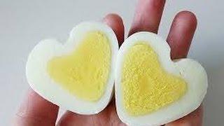 أفضل طريقة لتقشير البيض المسلوق .