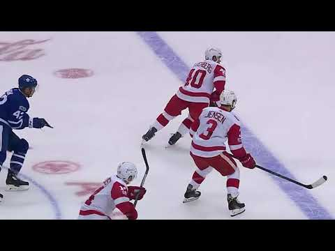Detroit Red Wings vs Toronto Maple Leafs - October 18, 2017 | Game Highlights | NHL 2017/18