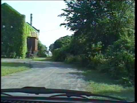 Drive around De Koven (former Racine College) July 1998, Racine, Wisconsin