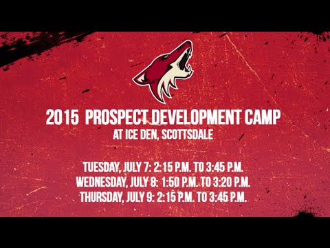 Coyotes Prospect Camp 2015 - Practice Session - Day 2