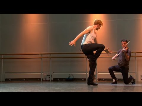 Steven McRae performs Czárdás during World Ballet Day 2015 (The Royal Ballet)