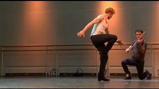 Steven McRae performs Czárdás during World Ballet Day 2015 (The Royal Ballet)