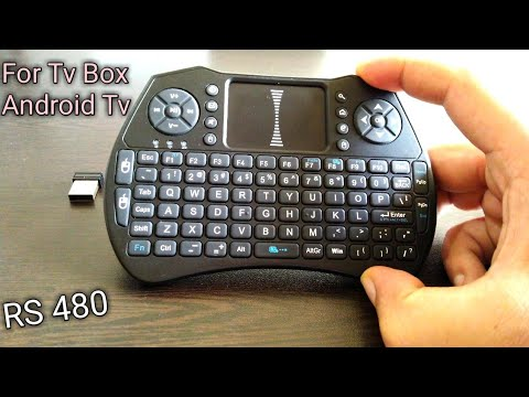 Alfawise A8  Fly Air Mouse Wireless Keyboard | BR Tech Films |