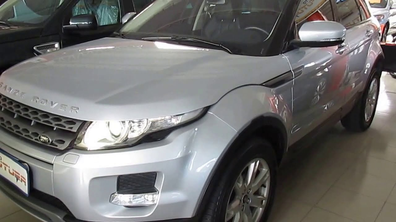 2018 Land Rover Range Rover Evoque >> Auto Futura TV - Land Rover Evoque 2.0 Pure Tech 4WD - 2013 (VENDIDO) - YouTube