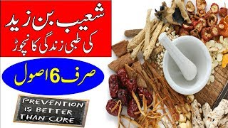 Welecome to urdu pages channel this video is about 6 golden rules for healthy life by a famous physician ( shoaib bin zaid ) in the era of hajaj ...