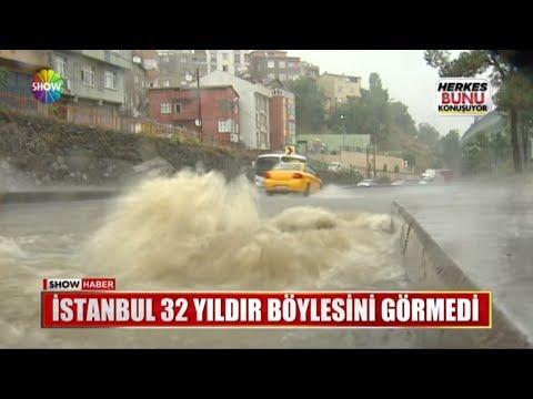İstanbul 32 yıldır böylesini görmedi