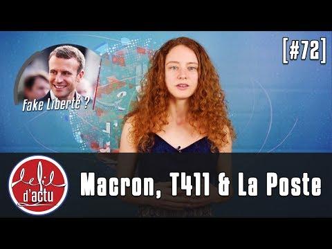 [Fil d'Actu #72] Macron | T411 | La Poste