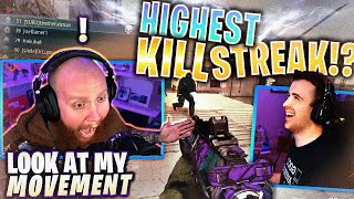 MY HIGHEST KILLSTREAK EVER?! FT. DRLUPO & NOAHJ456