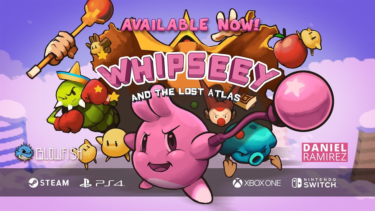 Whipseey and The Lost Atlas - Available Now! - YouTube