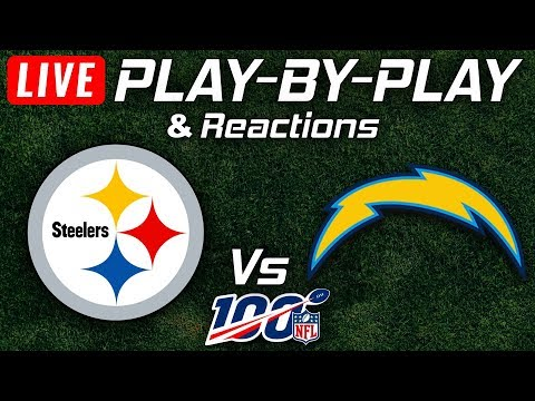 Steelers Vs Chargers | Live Play-By-Play & Reactions