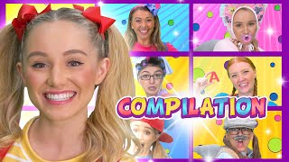 1 Hour Compilation | Kids Songs | WigglePop!
