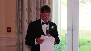 Funniest Father of the Bride speech ever