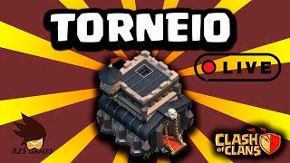 TORNEIO CV9 CLASH OF CLANS AO VIVO - RZS GAMES
