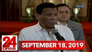 24 Oras: September 18, 2019 [HD]