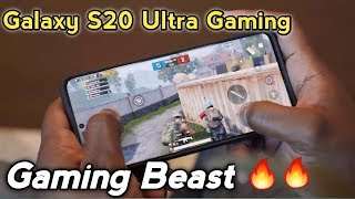 Samsung Galaxy S20 Ultra Gaming Review  Beast Gaming Mobile Phone