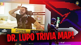 INSANE DR. LUPO TRIVIA MAP! COOLEST THING IN CREATIVE MODE EVER! (Fortnite: Battle Royale)
