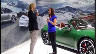 WTA Live All Access Hour 2013 Porsche Tennis Grand Prix| Sharapova Interview