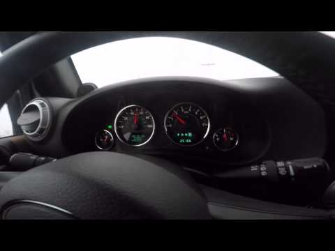 2013 Jeep JK 0 to 60 Test Stock VS Ripp Supercharged