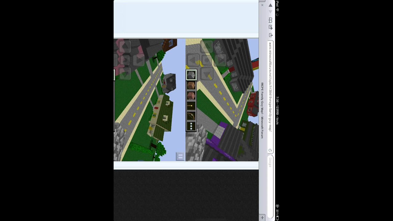 How To Download Minecraft PE Maps Strait From Your IPadiPodiPhone - Minecraft maps fur ipad